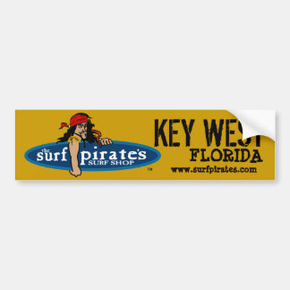 Key West surfa o autocolante no vidro traseiro da Adesivo Para Carro