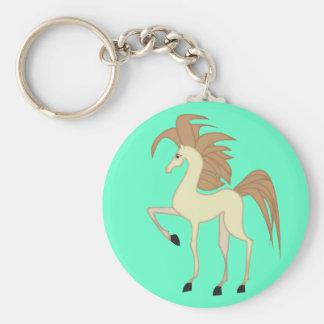 Keyring bonito do cavalo dos desenhos animados chaveiro
