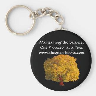 Keyring da árvore da procura chaveiro