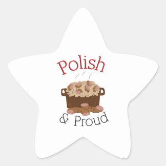 Kielbasa orgulhoso adesito estrela