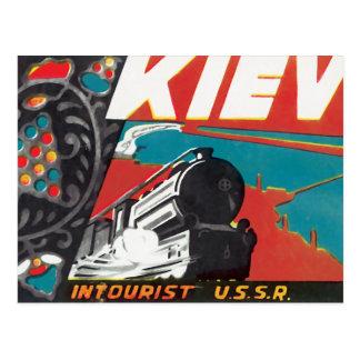 Kiev Intourist URSS Cartões Postais