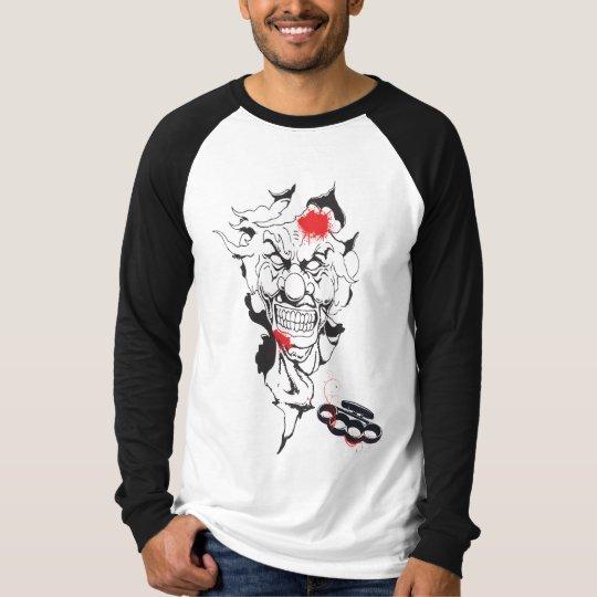 kill clown camiseta