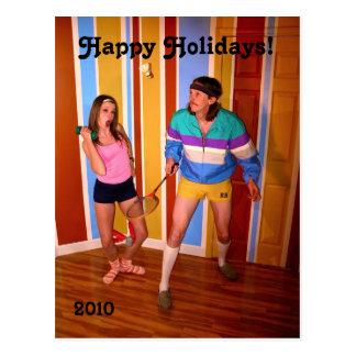 Kim & cartão de Natal de Josh