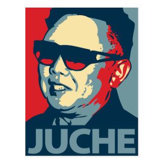 Kim Jong Il - Juche: Cartão de OHP