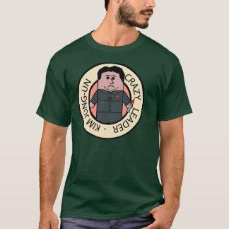 Kim Jong-Un Crazy Leader Camiseta