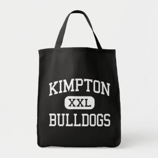 Kimpton - buldogues - escola secundária - armazena sacola tote de mercado
