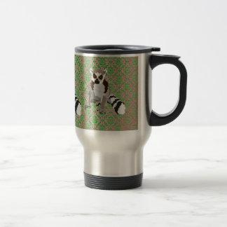 King Julian Damask Travel Mug