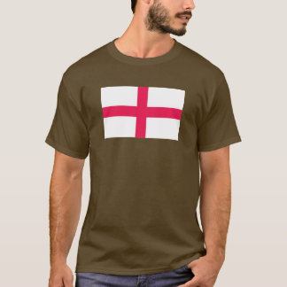 Kingdome do mapa/bandeira de Inglaterra (reino de Camiseta