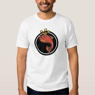 Kingfish com coroa camiseta