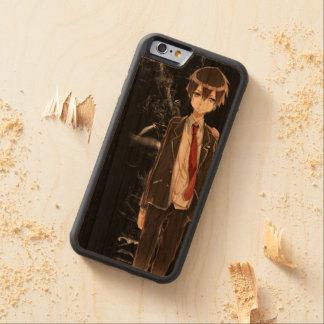 Kirito Dark Woodcase Capa De Cereja Bumper Para iPhone 6