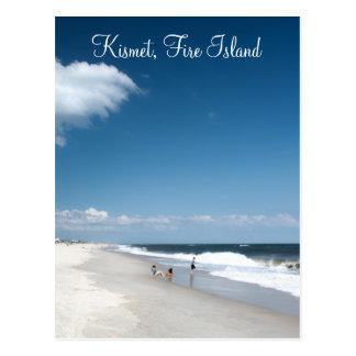Kismet, cartão da ilha do fogo