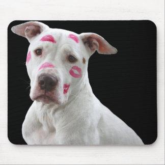 Kissable Pitbull Mousepad