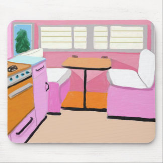 Kitchenette do reboque do viagem mouse pad