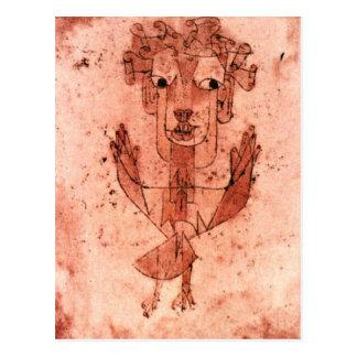 Klee - anjo novo (Angelus Novus) Cartão Postal
