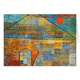 Klee - anúncio Parnassus, trabalhos de arte