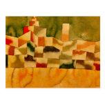 Klee - arquitetura oriental cartões postais