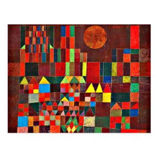 Klee - castelo e Sun Cartão Postal