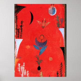Klee - mito da flor pôster