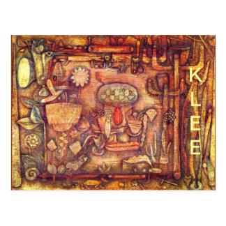 Klee - teatro botânico cartão postal