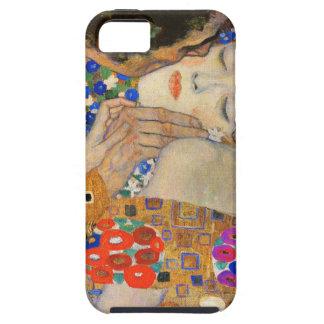 Klimt o exemplo do iPhone 5 do beijo Capas Para iPhone 5