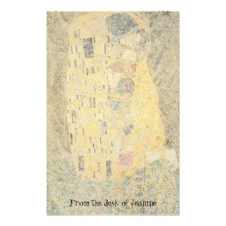 Klimt os artigos de papelaria de papel Handmade do