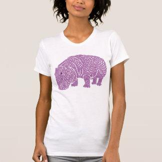 Knotty Hippo Camisetas