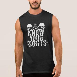know your rights camisas sem manga