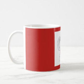 """""""Koala com um copo caneca do café quente"""""""