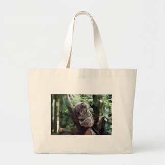 Koala do bebê do sono bolsa tote grande