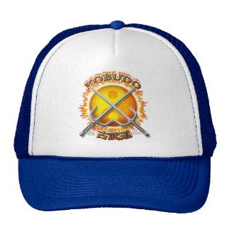 Kobudo que arde o chapéu de Yin Yang Sun Boné