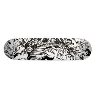 Koi Carpa Shape De Skate 18,1cm