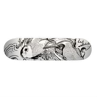 Koi Carpa Shape De Skate 18,4cm