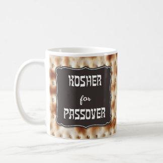 """""""Kosher para caneca do Matzo do Passover"""""""