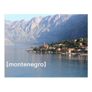 Kotor, cartão de Montenegro