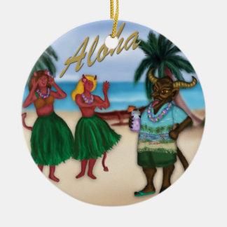 Krampus no ornamento das férias