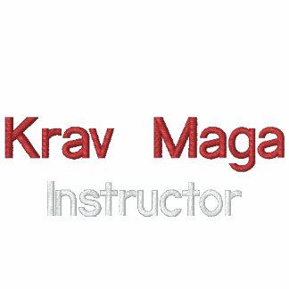 Krav Maga, instrutor Camiseta Bordada Polo