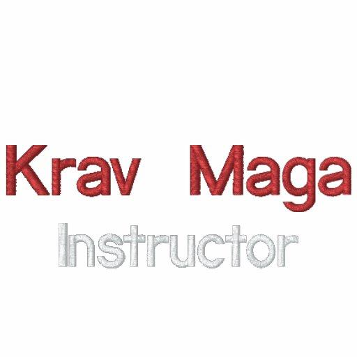 Krav Maga, instrutor Camisa Polo
