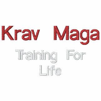Krav Maga, treinando para a vida Agasalho Track De Lã Bordado