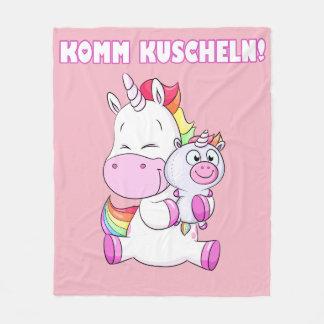 Kuschel unicórnio cobertor