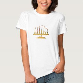 Kwanzaa Candles o t-shirt