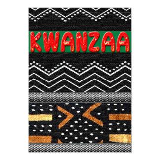 Kwanzaa Convite 12.7 X 17.78cm