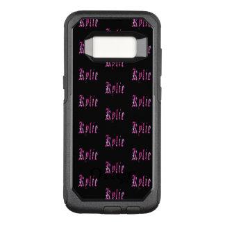 Kylie, nome, logotipo, caixa da galáxia S8 de Capa OtterBox Commuter Para Samsung Galaxy S8