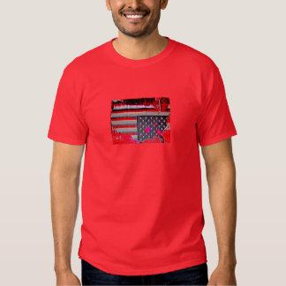 L.A. T de cabeça para baixo de rádio radical de Camisetas