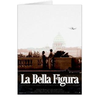 La Bella Figura - cartão 1