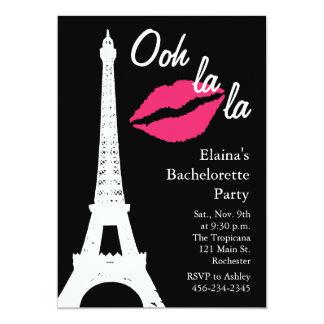 La do la de Ooh! Festa de solteira Convite Personalizado