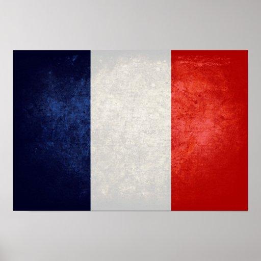 La France de Drapeau de Impressão