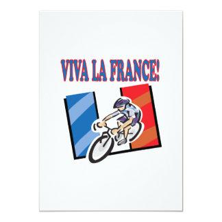 La France de Viva Convite 12.7 X 17.78cm