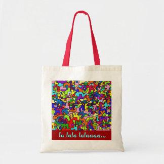 la lala lalaaaa… bolsa para compras