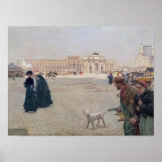 La Lugar du Carrossel, Paris Poster