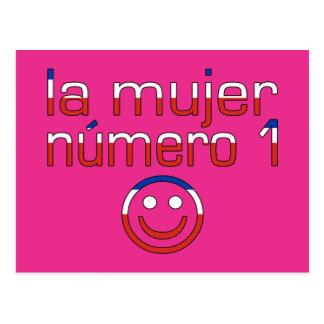 La Mujer Número 1 - esposa do número 1 no chileno Cartão Postal